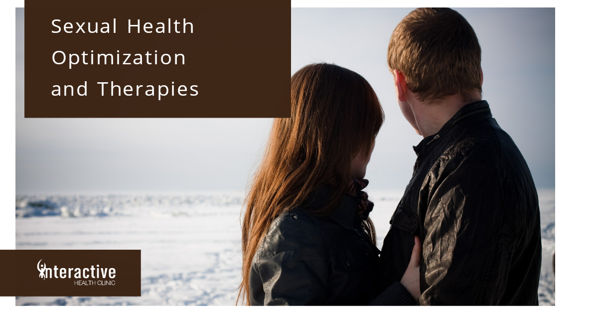sexual health optimization and therapies