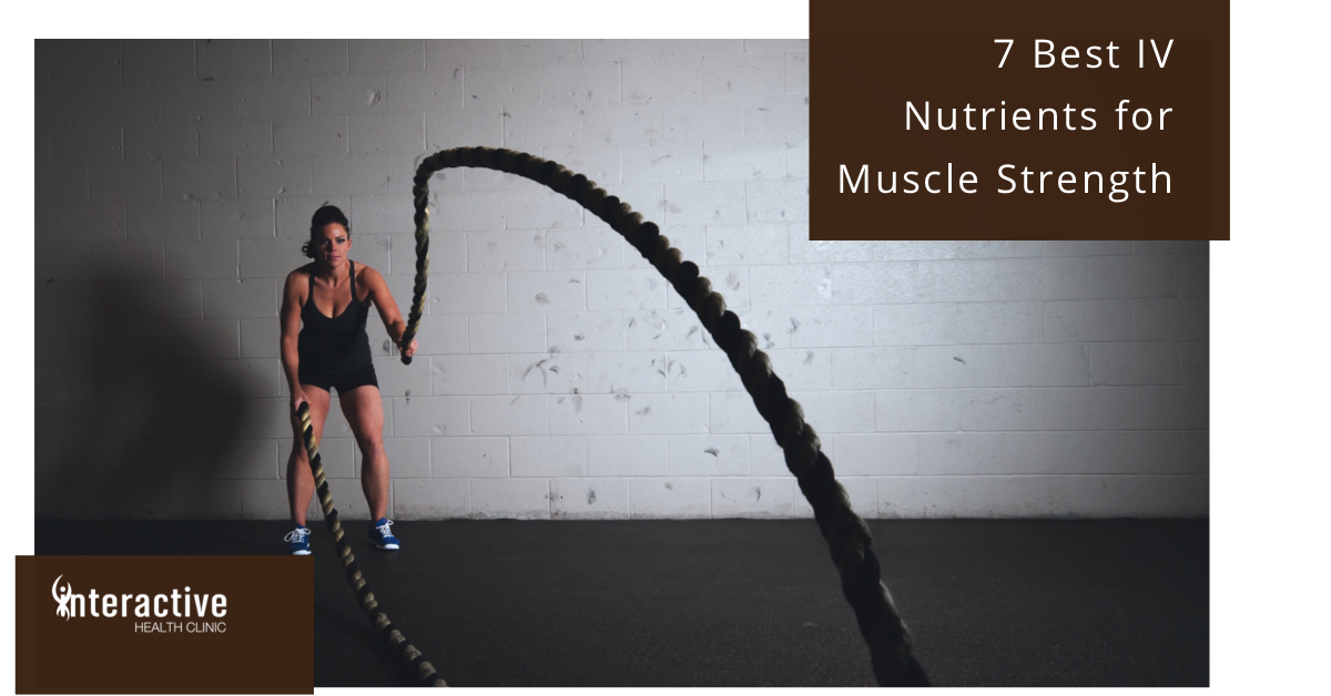 Cross Fit woman with muscle strength